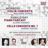 Violin Concerto - Piano Fantasy - C