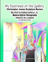 My Experience at the Gallery Christopher James Sculpture Review My Visit to Gabba Gallery L.A. Modern Digital Photography Prints in a Book by Artist Grace Divine