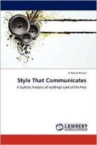 Style That Communicates