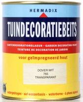 Hermadix Tuindecoratiebeits 765 Dover Wit - 0.75 l