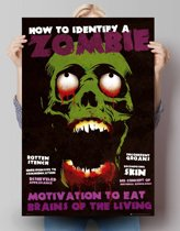 Reinders Poster Identify a Zombie - Poster - 61 × 91,5 cm - no. 22623