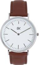 BK AMSTERDAM - Classic White Spui Horloge