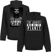 Mike Tyson Baddest Man Hooded Sweater - L