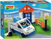 Unico Plus - Politieauto met politiebureau