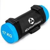 #DoYourFitness® - Core Bag / Gewicht Bag »Carolous« van 5 kg tot 30 kg - 2 handgrepen en 1 riem - Kracht / fitness bag voor kracht-, uithoudings-, gevechts- en coördinatietraining - 17kg