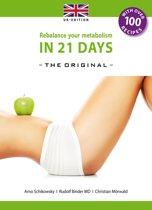 Omslag van 'Rebalance your metabolism in 21 Days'