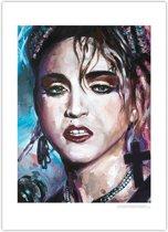 Madonna art print (50x70cm)