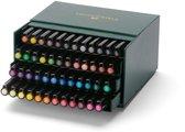 Tekenstift Faber-Castell Pitt Artist Pen Brush 48-delig Studiobox