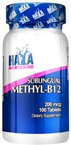 Methyl-B12 200mcg Haya Labs 100tabl