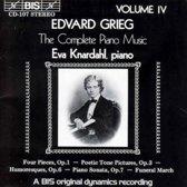Grieg: Complete Piano Music Vol 4 / Eva Knardahl