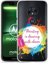 Moto G7 Play Hoesje Painting