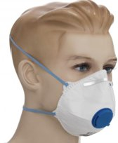 Mondkapje Stofmasker FFP2 met filter 10st. per doo