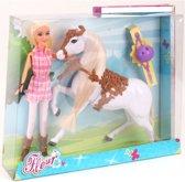 Pop Fleur Paard Set