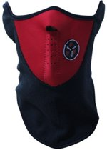 Improducts Fleece Skimasker - facemask - Thermo Winddicht - Rood