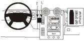 Brodit center mount v. Hummer H2 03-