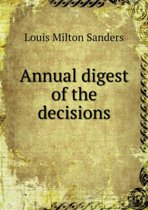 Annual Digest of the Decisions