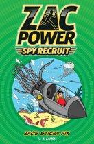 Zac Power Spy Recruit: Zac's Sticky Fix