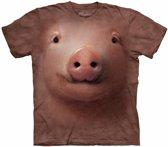 Dieren T-shirt varken/big voor volwassenen XL