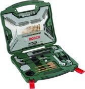 Bosch X-Line borenset - 103-delig - Titanium Plus Serie - Voor hout, metaal en steen