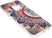 ADEL Siliconen Back Cover Hoesje voor Samsung Galaxy S9 Plus - Mandala Bloemen
