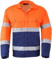 Havep 5105 Jack/Blouson Marine/Fluo Oranje maat 50