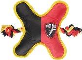 Belgisch voetbal ster zwart geel rood 23 cm