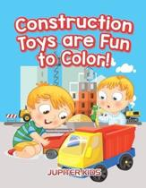 Construction Toys Are Fun to Color!