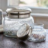 LOBERON Pot set van 2 Pailhés helder/zilverkleurig
