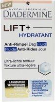 Diadermine Dagcréme Anti Rimpel Lift + Hydra Fluid – 10x5x5cm | Anti Aging Créme voor Vrouwen | Voedende en Hydraterende créme voor vrouwen