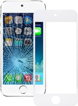 Let op type!! Front Screen Outer Glass Lens for iPod touch 5 (White)