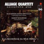 Piano Quintet Arr. For 4 Saxophones