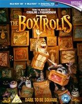 The Boxtrolls (Import)(Blu-ray 3D + Blu-ray)