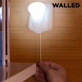 Walled LB15 Draagbare Ledlamp met Trekkoord (pak van 3)