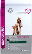 Eukanuba Cocker Spaniël - Breed Specific - Kip - Hondenvoer - 7.5 kg
