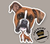 Magneet Hond Boxer