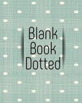 Blank Book Dotted