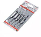 Bosch Decoupeerzaagblad hardhout T 144 DP blister van 5 zaagjes