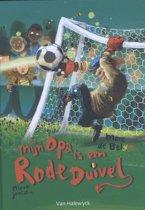 Boek cover Meisjes met pit - Mijn opa is een Rode Duivel van Marc de Bel