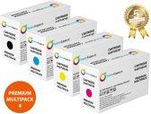 Set 4x Huismerk Premium Toner voor Xerox Phaser 6128 Toners-kopen_nl