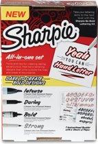 Sharpie - Be Bold Handlettering kit - 9 delig