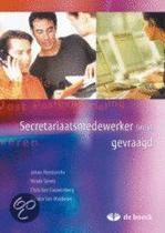 Secretariaatsmedewerker (m/v) gevraagd