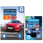 Practical book for the driving license + 15 hours online exam training