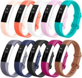 YONO Siliconen bandjes - Fitbit Alta (HR) - 10-pack - Large