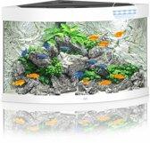 Juwel Aquarium Trigon 190 Led 70x70x60 cm Wit Ca. 190 L