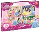 Jumbo Disney Princess 4 in 1 - 70 stukjes