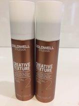 Goldwell - Creative Texture - Crystal Turn - 100ml 2 stuks