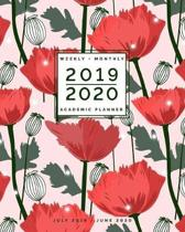 July 2019 - June 2020 - Weekly + Monthly Academic Planner