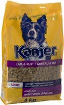 Kanjer Hondenvoer - Lam/rijst - 4 kg
