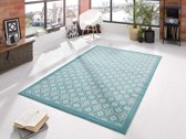 Vloerkleed  tile 160x230cm blauw, creme Hanse Home