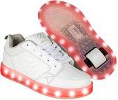 Heelys Rolschoenen Premium Lo Wit - Sneakers - Kinderen - Maat 31 - LED lichtjes - Oplaadbaar